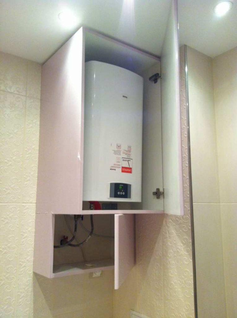установка газовых колонок
