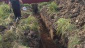Строительство подземного газопровода